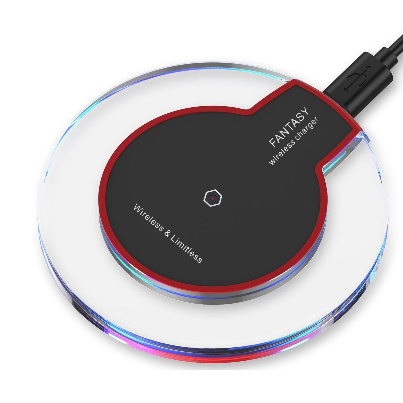 wireless induktive ladeger t qi kabellos induktion charger. Black Bedroom Furniture Sets. Home Design Ideas